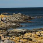 Bornholm wybrzeze przy svaneke